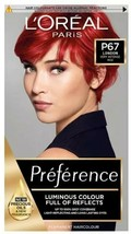 L'oreal Preference Permanent Hair Dye Colour London Very Intense Red Shine Oil - $21.14
