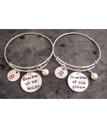 Grandmother Of The Bride Grandmother Of The Groom Bracelet Wedding Charm... - $33.60