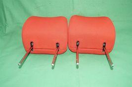 10-13 Kia Soul Front Cloth 2 Headrests Headrest Set RED image 6