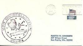 CONSTELLATION (CVA-64) 26 Nov 1971 LT 7dit(nu)(POW/MIA) Ships Crest Cachet - $3.47