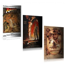 Indiana Jones - Movie Poster Set - $35.00
