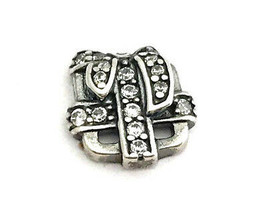 Authentic Pandora All Wrapped Up Petite Floating Charm, 792167CZ New - $18.35