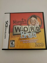 Margot's Word Brain (Nintendo DS, 2008) With Case and Manual - $2.50