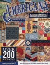 Americana Premium Plus Embroidery Design  Anita Goodesign (Cd ONLY)  AA0218 - $69.29