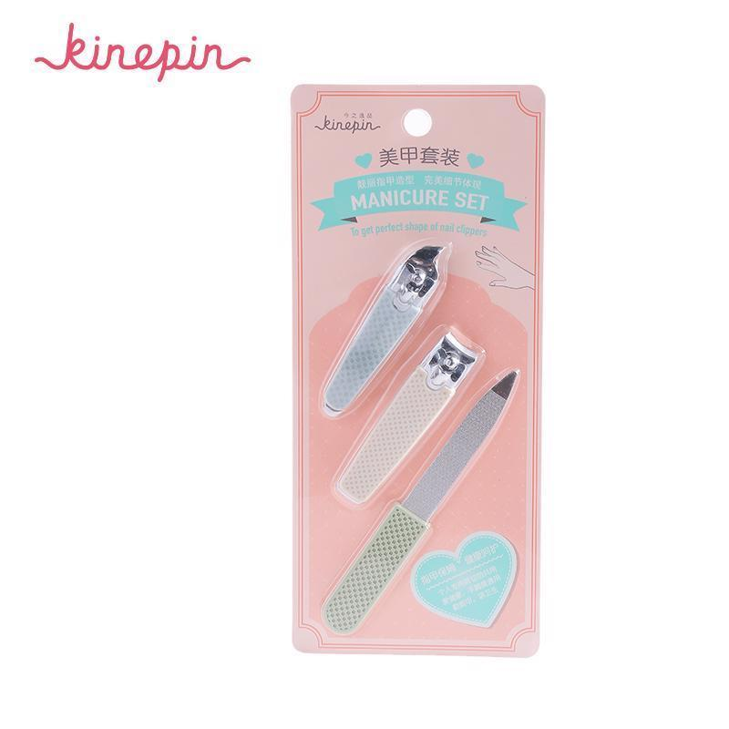 Stainless Steel Nail File Clipper Trimmer Set Fingernail Cutter Clippers Tools image 2