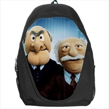 backpack school bag muppets statler and waldorf - $39.79