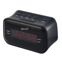 MEGA-SC-378BT Supersonic Dual Alarm Clock Radio with Wireless Connectivity - $35.62