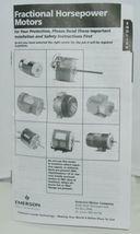 Emerson 1864 Direct Drive Blower Motor KA55SMW2346722 image 9