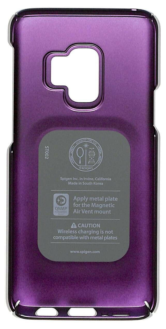 Spigen Thin Fit Case for Samsung Galaxy S9 Slim Cover Lilac Purple
