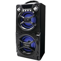SYLVANIA SP328-BLACK Bluetooth Speaker with Speakerphone (Black) - $49.52