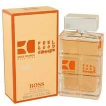 Boss Orange Feel Good Summer by Hugo Boss Eau De Toilette Spray 3.3 oz (... - $47.82