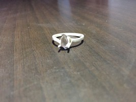 925 Sterling Silver Semi Mount Ring Setting 5 x 7 mm Pear Shape Stone  U... - $8.32+