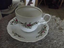 Johann Haviland-TraditionsThailand Moss Rose cups and saucers 4 available - $3.71