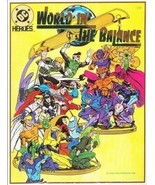 DC Heroes World in the Balance Role Playing Game Adventure Mayfair 1992 ... - $9.70