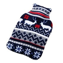 Hand Warmer Cute Washable Soft Cover Safe Hot Water Bottle Warm Hand Bag... - $21.55