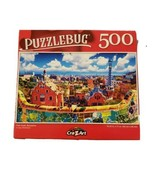 """Puzzlebug 500 Piece Puzzle Park Guell, Barcelona 18.25""""  X 11"""" New COLORFUL - $6.23"""