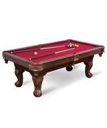 "87"" Billiard Pool Table 8 Ball Cue Stick Bank Shot Break Chalk Scratch M... - $499.00"