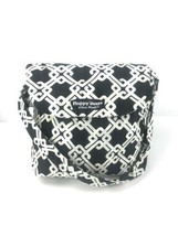 Floppy Seat Shopping Cart High Chair Cover For Baby Black And White Plush - $21.48