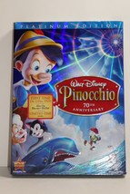 Walt Disney Pinocchio (DVD, 2009, 2-Disc Set, 70th Anniversary Platinum ... - $19.79