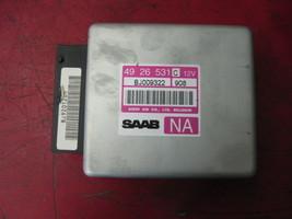 01 00 99 saab 9-5 automatic transmission computer tcm module 4926531 - $24.74