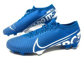 Nike Mercurial Vapor 13 Pro FG Mens Soccer Cleats Blue Size 13 AT7901-414 NEW - $69.95