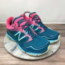 New Balance 695 V2 Blue/Pink Lace Up Running Sneakers Womens Size 6 - $39.95
