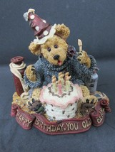 Boyds Bears & Friends Style #228321 G.M. Bearenthal Happy Birthday You Old Bear - $14.95
