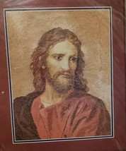 Jesus Christ at 33 Counted Cross Stitch Kit Bucilla 41644 Religious 1997  - $27.89