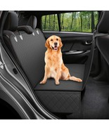Waterproof Pet Car Seat Carrier Cover(All black 137X147cm) - $73.18
