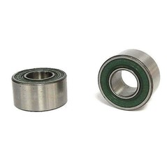 LOT OF 2 NEW NDH Z995202B DOUBLE ROW BEARINGS 15 mm ID x 35 mm OD x .750″ WIDE