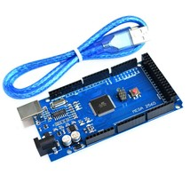 10sets/lot Mega2560 REV3 ATmega2560-16AU Board + USB Cable compatible fo... - $86.54