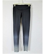 CHAMPION WOMENS  XS  BLACK GRAY WHITE POCKET STRETCH LEGGINGS (A) - $19.88