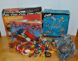 Knex Building Toy Lot 3 Lbs Mixed Pieces - $13.54