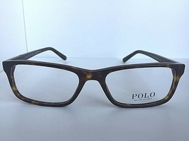 New Ralph Lauren PH 2143 5003 55mm Havana Rectangular  Eyeglasses Frame  - $119.99
