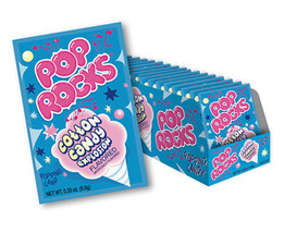 Pop Rocks Popping Candy Packs Cotton Candy: 24-Piece Box Free Shipping - $23.33