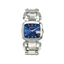 Gucci YA125405 Blue Dial Stainless Steel Strap Ladies Watch - $633.99