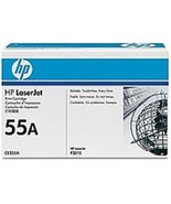 HP 55A CE255A Toner Cartridge with Smart Printing Technology - Black - 6... - $247.69