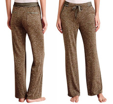 Anthropologie Lounger Pants XSmall 0 2 Green Athleisure CUTE Exercise Sleep Play - $41.30
