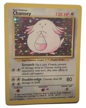 Pokemon Card - Chansey - (3/102) Base Set Rare Holo ***NM*** - $9.99