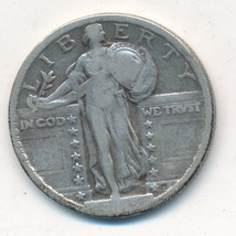1919 STANDING LIBERTY SILVER QUARTER-A NICE CIRCULATED QUARTER-SHIPS FREE!  - $49.95