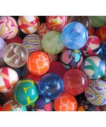 Crazy Bouncy Jumping Balls Set of 6 Assorted Multicolor Balls - $18.60