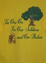 Mens Daffins Candy T Shirt March of Dimes For Our Soldiers & Babies Larg... - $10.39
