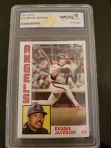1984 TOPPS #100 Reggie Jackson California Angels WCG 10 Mint Baseball Card - $44.54