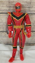 2005 Bandai Mystic Force Red Power Ranger Talking Action Figure 12 in Tall - $14.54