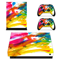 Painted Picture Decal Xbox one X Skin for Xbox Console & 2 Controllers - $15.00