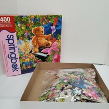 "2011 Springbok 400 Piece ""Christmas Bear Wishes"" Family Jigsaw Puzzle  - $7.99"