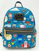 Disney Parks Icons Mini Loungefly Backpack Minnie Churro Hatbox Attraction NWT C - $72.26