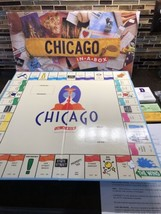 Chicago In-a-Box Late for the Sky Monopoly Style Board Game Before Chica... - $28.59