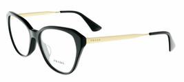 Prada PR28SV 1AB1O1 54MM Black Cateye Eyeglasses Black Optical Frame  - $306.90