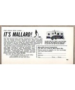 1963 Print Ad Mallard 17 1/2' Drake Travel Trailers West Bend,WI - $9.78